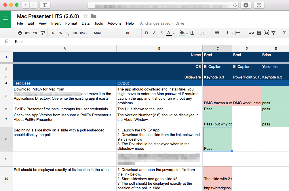 Example HTS document for our Mac App